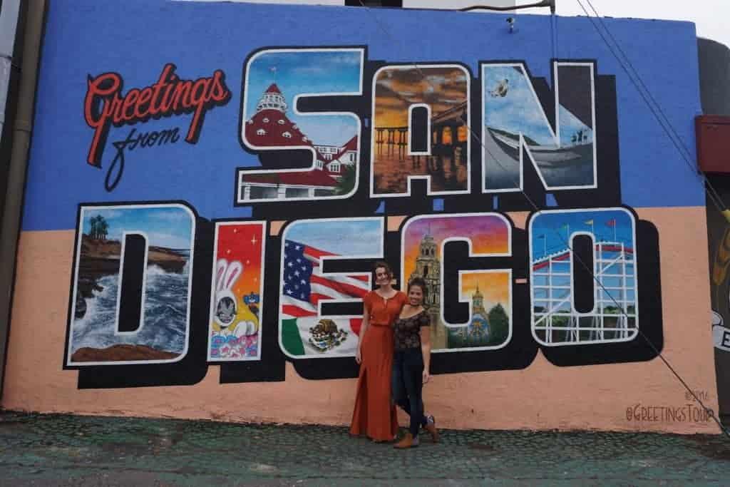 San Diego con Suzanne